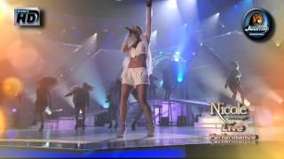 Nicole Scherzinger - Right There   (Live with Intro) HD