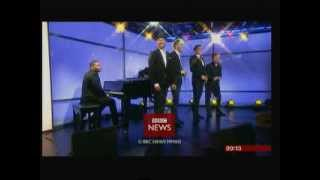 The Tenors - Perform Forever Young on BBC Breakfast