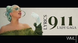 Lady Gaga 911/WIFI MUSIC LYRICS//Video original