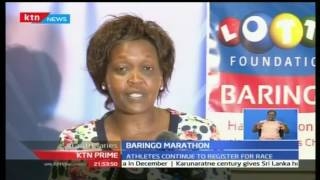 KTN Prime: Kenya Lotto Foundation sponsor this year's Baringo Half Marathon, 1/11/16c
