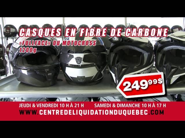Centre de Liquidation du Québec – Casques de moto – Juin 2016