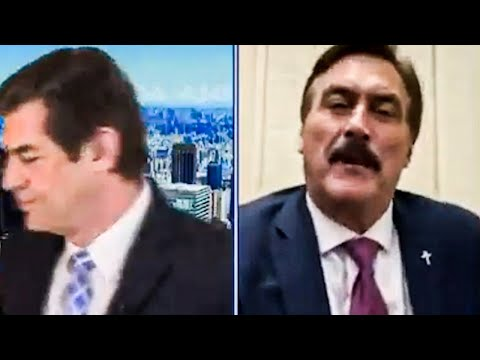 Newsmax Host WALKS OUT As MyPillow Guy Hijacks Show