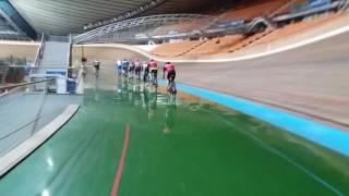 "Тренировка школы велоспорта и триатлона ""IronDrive & AlexTeam"" на велотреке в  Крылатском."