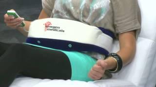 newgen medicals Premium-Massagegürtel mit 3 Programmen & Wärmefeld