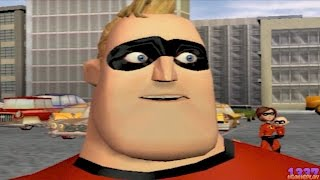 The Incredibles Rise Of The Underminer (PS2) Playstation 2 Disney Pixar