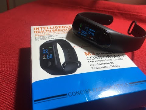 XANES MI3 Activity tracker Smart Band From Banggood Unboxing
