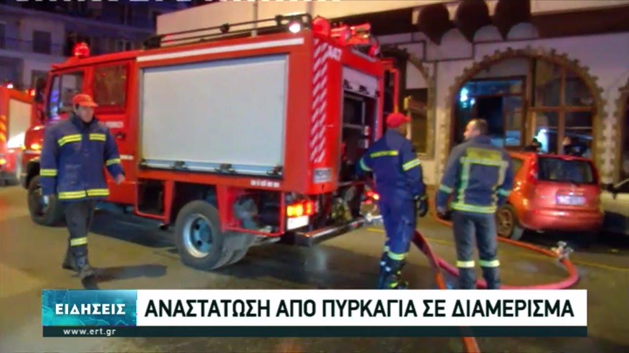 Αναστάτωση από φωτιά σε διαμέρισμα στην οδό Ολυμπιάδος στη Θεσσαλονίκη | 18/03/2021 | ΕΡΤ