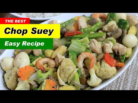 Chopsuey Recipe by Filipino Recipes Portal