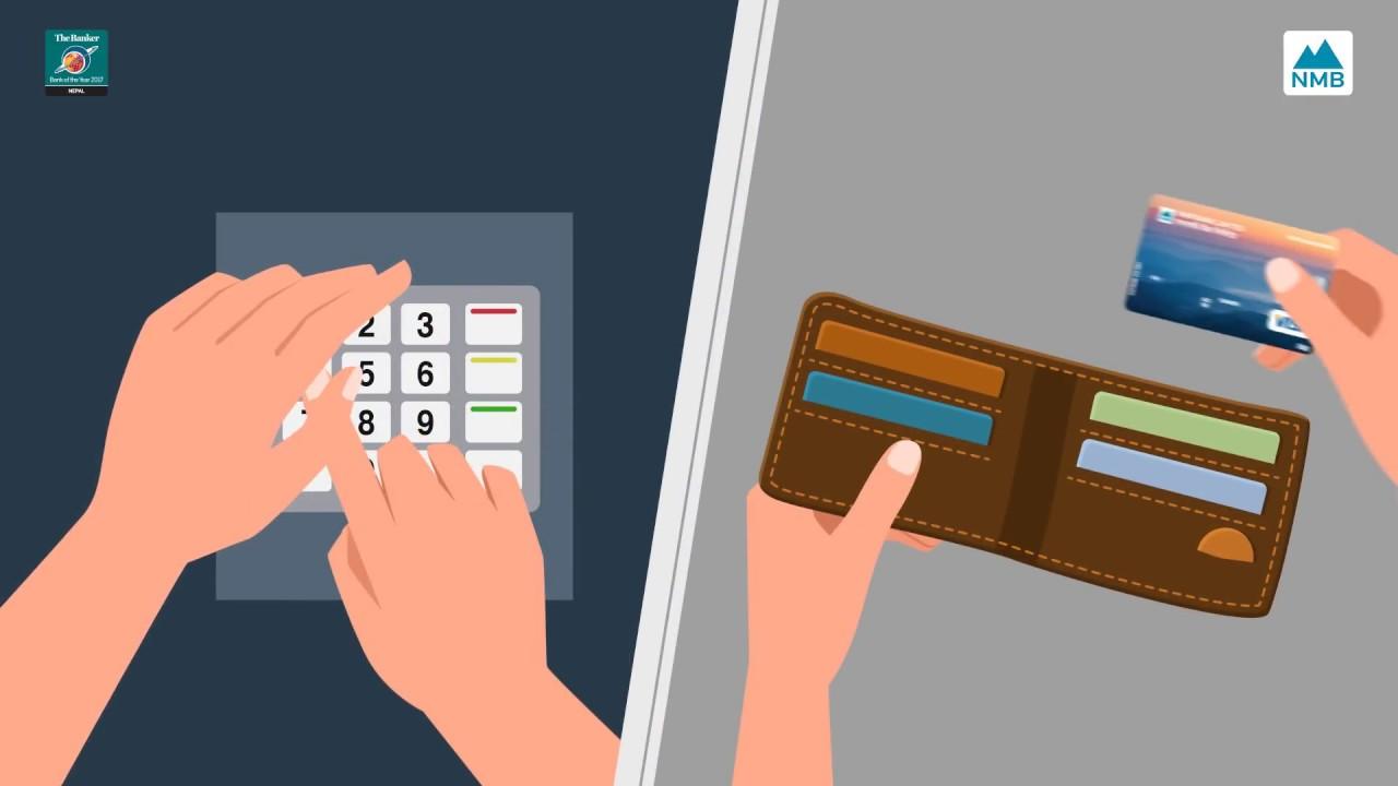 NMB Bank Tutorial: How To Use A Debit Card | ATM डेबिट कार्ड प्रयोग गर्ने तरिका