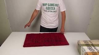 Бамбуковые полотенца Sikel, 70 х 140 см., 6 шт./уп. M10009 от компании МИР БАМБУКА ОПТ. Полотенце, халат, простынь оптом, Одесса, 7 км. - видео