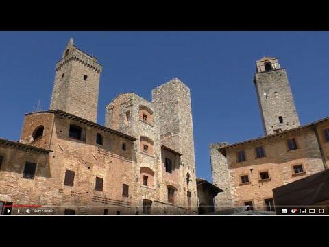 Teil 5:  Streifzug durch San Gimignano und Motorradtour durch die Hügel der Toskana
