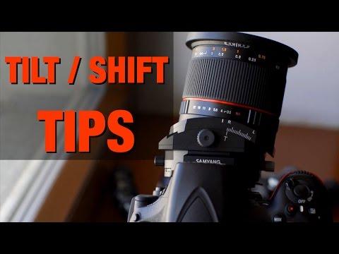 How to use a Tilt Shift Lens