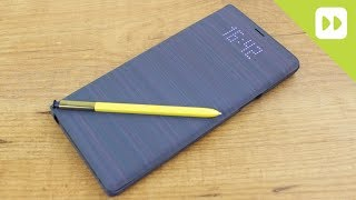 Official Samsung Galaxy Note 9 LED Cover Case Review - Hands On