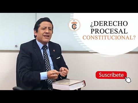 ¿DERECHO PROCESAL CONSTITUCIONAL? - TC175