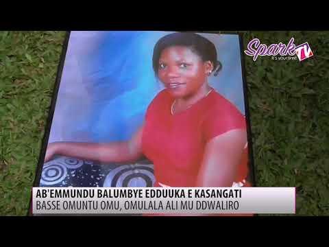Ab'emmundu balumbye edduuka e Kasangati, omu bamusse omulala ali bubi