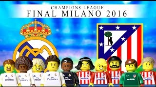 LEGO Champions League Final 2016 REAL MADRID - ATLÉTICO DE MADRID