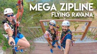 Flying Ravana | Mega ZipLine | Ella | Sri Lanka