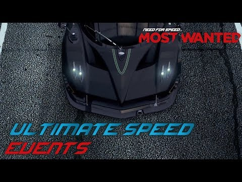 Need For Speed: Most Wanted (2012) - Ultimate Speed Pack Events (PC)