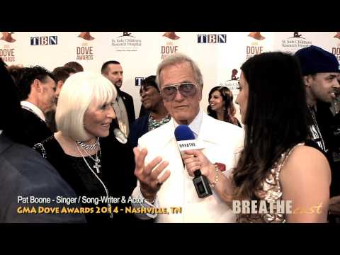 Pat Boone | GMA Dove Awards 2014 - Red Carpet Interview | BREATHEcast.com (HD) Mp3