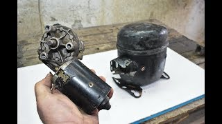 4 WAYS HOW TO REUSE OLD REFRIGERATOR MOTOR COMPRESSOR