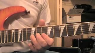 Don't Burn Down That Bridge (Live) solo Lesson 1/3