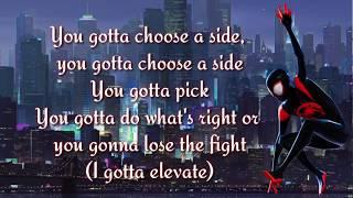 DJ Khalil - Elevate (D. Curry, YBN Cordae, SwaVay, T. Rich)   (Lyrics Video)