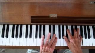Blues Bass Line, Walking Bass, Jazz PianoTutorial