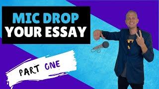 End Your Essay: How to Write a Conclusion Paragraph (PART 1)