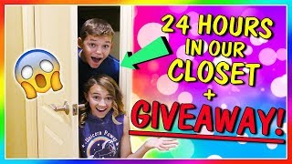 24 HOURS IN OUR CLOSET + GIVEAWAY! | We Are The Davises
