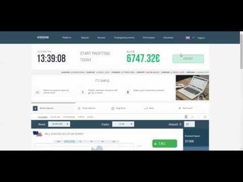 Bitcoin uždarbis su momentiniu pinigų išėmimu