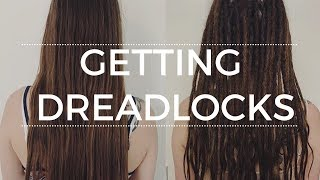 Getting Dreadlocks