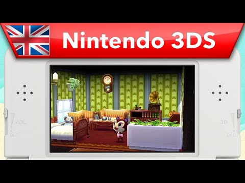 Видео № 1 из игры Animal Crossing: Happy Home Designer [3DS]