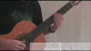 Opeth Guitar Lesson - Benighted (part one)