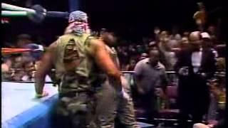 Hulk Hogan Vs. Sgt. Slaughter (Desert Storm Match) 12