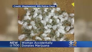 Stash Of Marijuana Found In Donated Clothes