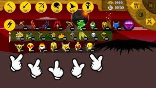 Stick War Legacy | 999 Items Golden Spartan Attack Boss | Stick War | KasubukTQ