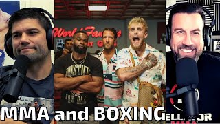 None of MMA skills will help you in boxing. T-Wood vs Jake Paul. Big John reacts.