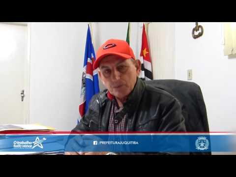 Prefeito Ayres Scorsatto fala sobre a Carreta da Mamografia em Juquitiba