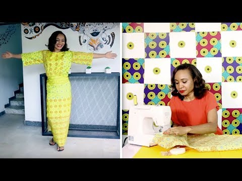 How to sew a Perfect Traditional Iro and Buba (DETAILED STEPS)
