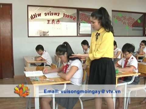 Kỹ năng giúp trẻ ngồi học đúng cách - Vui Sống Mỗi Ngày [VTV3 - 03.09.2012]