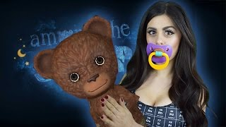 Weirdest Horror Game I've Ever Played - AMONG THE SLEEP - AZZYLAND