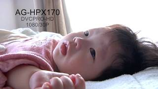 AG-HPX170 My Baby Face Tone TEST