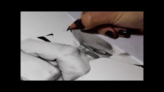 Drawing Pencil Hyperrealism – Time-lapse – TRASPARENZE- Silvia Pagano Art