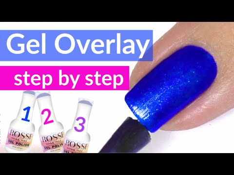 Gel Nail Overlay Tutorial | Rossi Nails Review