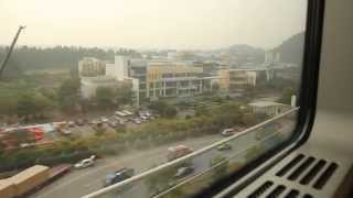 preview picture of video 'Guangzhou to Foshan by Train'