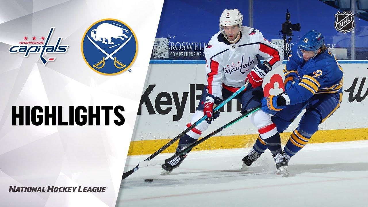 Capitals vs Sabres | Friday, January 15, 2021