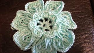 Crochet Flower Imitation Hair Pin Lace