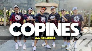 COPINES (Tiktok Hit) by Aya Nakamura | Zumba | TML Crew Kramer Pastrana