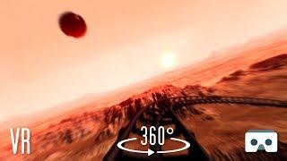 360 VR Mars Roller Coaster: Virtual Reality 360 3D Video