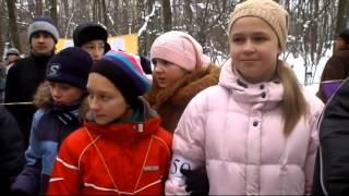 preview picture of video 'Ориентирование в зимнем лесу'